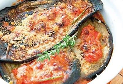 Recette-diététique--Aubergines à la parmigiana
