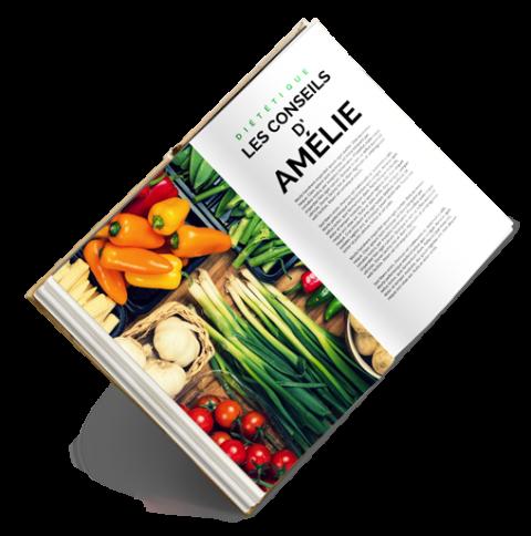 Livre numérique Amélie Roger diététicienne nutritionniste