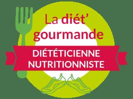 Logo de La Diet Gourmande Amélie Roger Diététicienne Nutritionniste