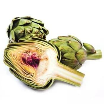 Illustration pour l'aliment diététique l'artichaut