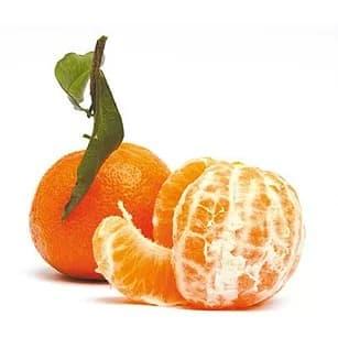 Illustration pour l'aliment diététique la clementine