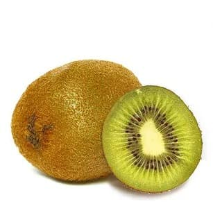 Illustration pour l'aliment diététique le kiwi
