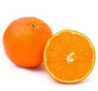 Illustration pour l'aliment diététique l'orange