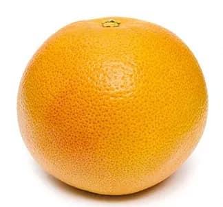 Illustration pour l'aliment diététique le pomelo