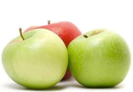 Illustration pour l'aliment diététique la pomme