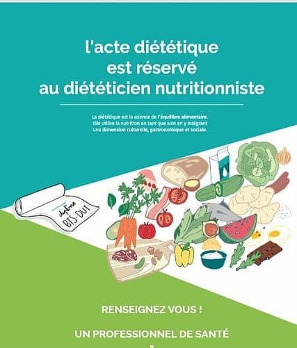 Diététique et nutrition brochure