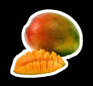 Illustration pour l'aliment diététique la mangue